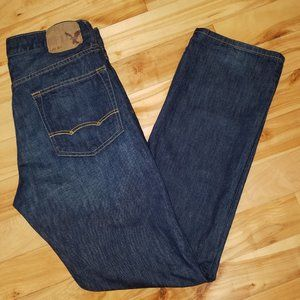 AMERICAN EAGLE RELAXED STRAIGHT BLUE JEANS 32 x 34